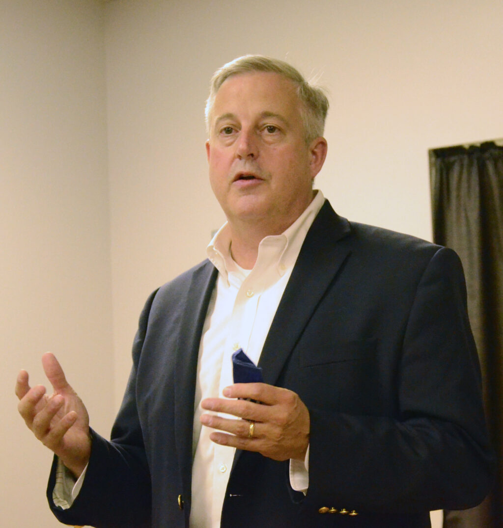 N.C. GOP Chairman Michael Whatley tells about Republican grassroots efforts across the Tar Heel state, on behalf of candidates in various races.