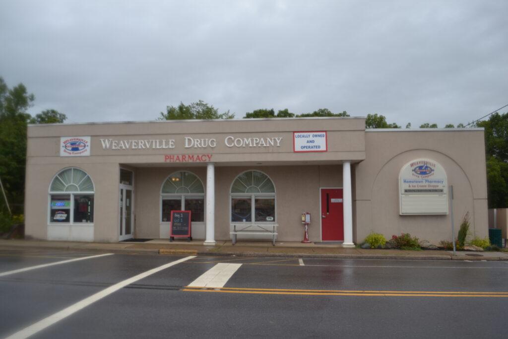 Weaverville Drug Co. exterior