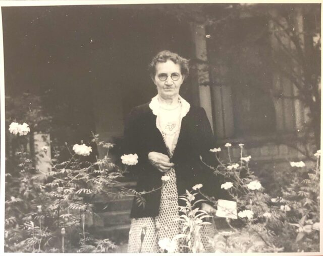 Julia Wolfe, photo courtesy of the Thomas Wolfe Memorial.