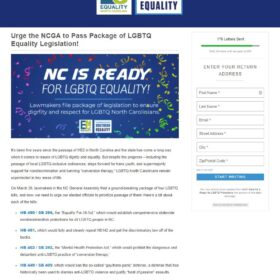 Equality North Carolina and the Campaign for Southern Equality (for which Beach-Ferrara serves as executive director) are behind the push for NDOs in the state.
