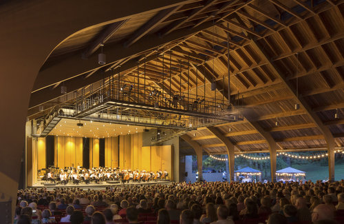 With proper social distance the Whittington Pfohl Auditorium will be open for audiences to attend for 5 weeks this summer. Photo courtesy of Brevard.
